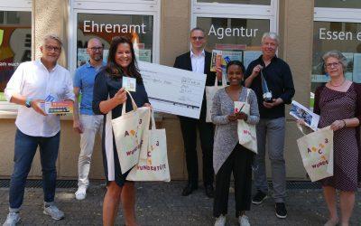 Teilnehmer von Charity-Weinprobe spenden 4.700 Euro für Coronahilfe der Ehrenamt Agentur Essen e. V.